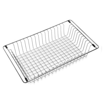 Houzer Wirecraft WT-3500 Over-the-Sink Stainless Steel Wire Tray