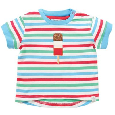 Green/Blue Stripe Baby & Kids