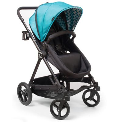 Full Size Strollers > Contours® Bliss 4-in-1 Stroller in Laguna Blue