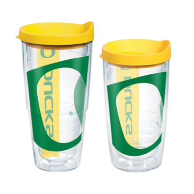 Tervis® University of Oregon Colossal Wrap 16-Ounce Tumbler with Lid