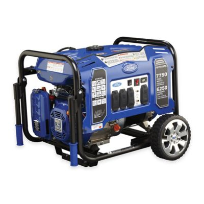 Ford M-Series 7750-Watt Gas Portable Generator with Electric Start