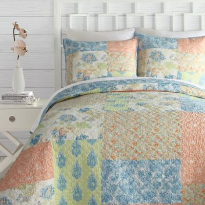 Jessica Simpson Fiona Reversible King Quilt