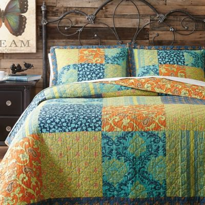 Jessica Simpson Jacinda Reversible Twin XL Quilt
