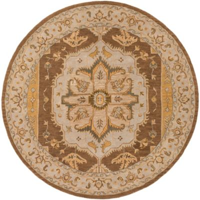 Artistic Weavers Middleton Mia 8-Foot Round Area Rug in Rust