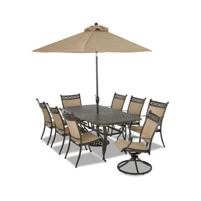 Klaussner Cayside 9-Piece Outdoor Dining Set