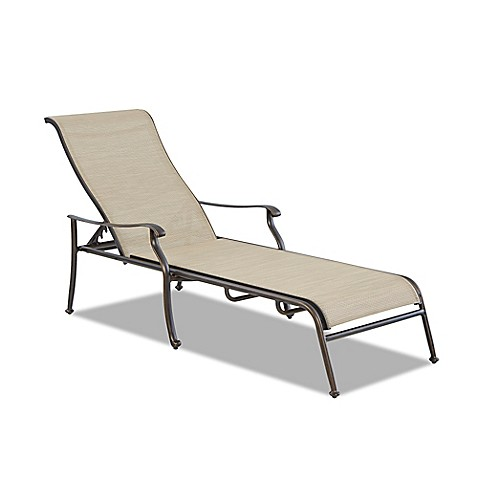 Buy klaussner verona outdoor chaise lounge set of 2 from for Bathroom chaise lounge