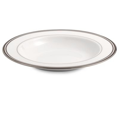 Lenox® Federal Platinum Chocolate 9-Inch Rim Soup