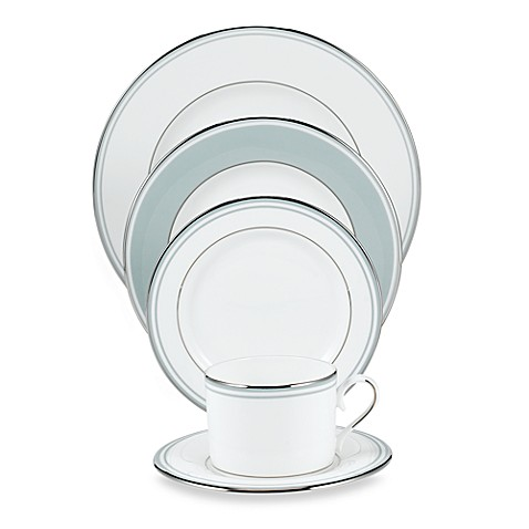 Federal Blue Platinum™ 5-Piece Place Setting