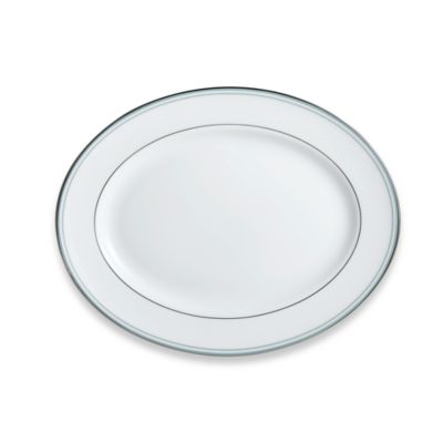 Lenox® Federal Platinum Blue 13-Inch Oval Platter