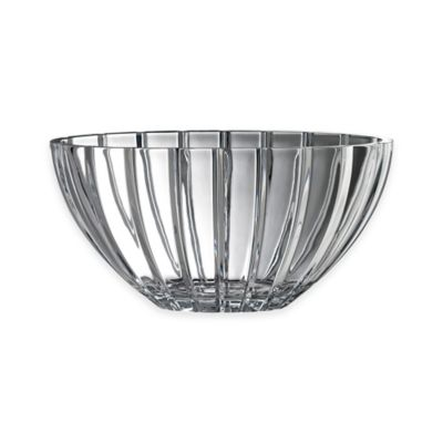 Belleek Galway Crystal Oval Linear 12-Inch Bowl