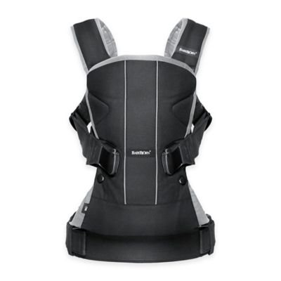 BABYBJORN® 2016 Baby Carrier One in Black/Silver
