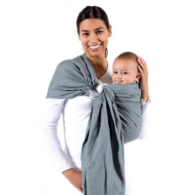 Baby Carriers > Beco Ring Sling Baby Carrier in Cloud