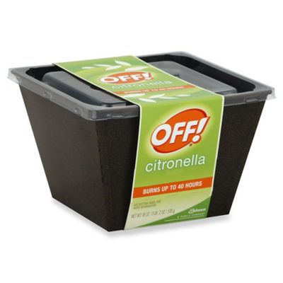 Off!® 18 oz. Citronella Bucket Candle