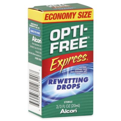 Alcon® Opti-Free® 2/3 oz. Express Contact Lenses Rewetting Drops