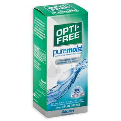 Alcon® Opti-Free® 4 oz. Pure Moist Multi-Purpose Disinfecting Solution