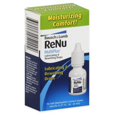 Bausch + Lomb ReNu MultiPlus® .27 oz. Lubricating and Rewetting Drops