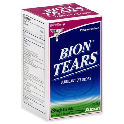Bion® Tears 28-Count Lubricant Eye Drops