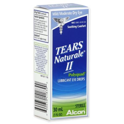 Alcon® Tears Naturale® ll 1 oz. Polyquad Lubricant Eye Drops