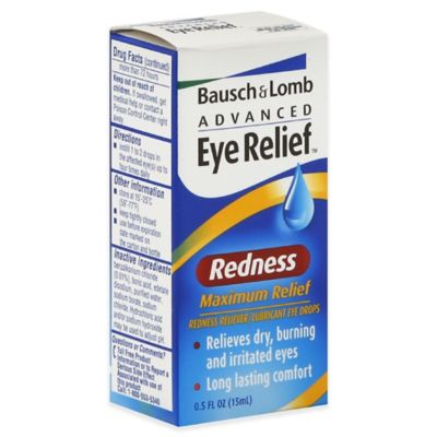 Bausch +Lomb Advanced Eye Relief™ .5 oz. Redness Maximum Relief Lubricant Eye Drops