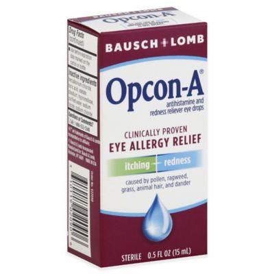 Bausch + Lomb Opcon-A® .5 oz. Eye Allergy Relief Drops