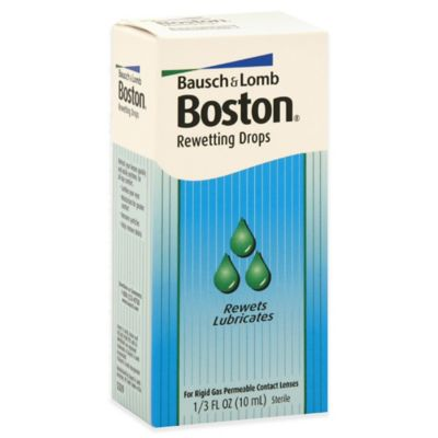 Bausch + Lomb Boston® .33 Rewetting Solution