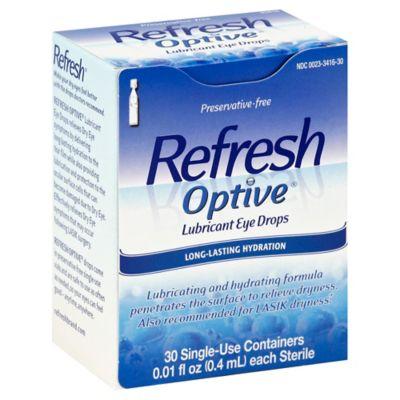 Refresh Optive® Sensitive 30-Count Lubricant Eye Drops