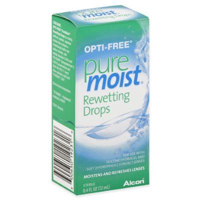 Alcon Opti-Free® .4 oz. Pure Moist Rewetting Drops