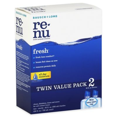 Bausch + Lomb Renu® Fresh™ 2-Count Multi-Purpose Solution