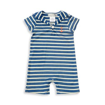 Navy with White Stripes Baby & Kids