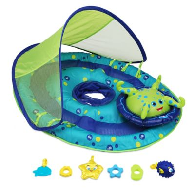 Baby Spring Float Activity Center with Sun Shade