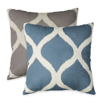 Luna Square Throw Pillow Bedding