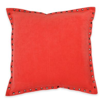 Payton Nailhead Throw Pillow