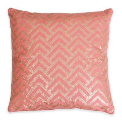Faith Sequin 20-Inch x 20-Inch Throw Pillow
