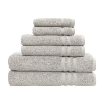 Linum Home Textiles Denzi 6-Piece Towel Set in White