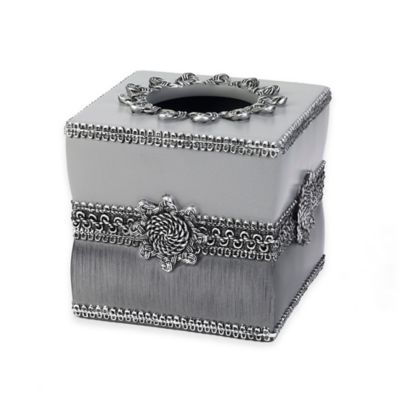 Braided Medallion Boutique Tissue Box Cover