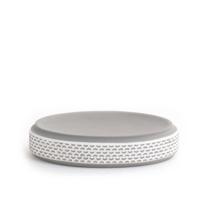 Porcelain Bars Soap Dish