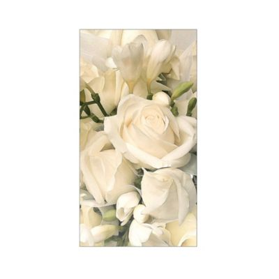 Ivory Bouquet 16-Count Paper Guest Towels