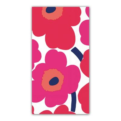 16-Count 3-Ply Unikko Flowers Paper Guest Towels