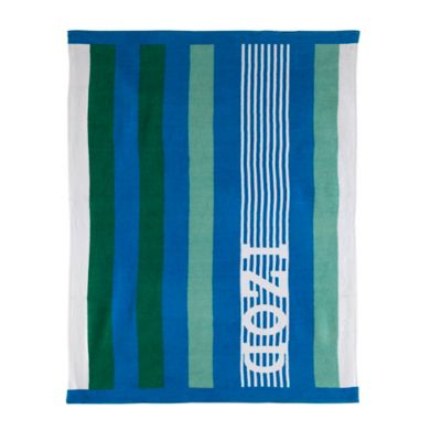 Izod® Racing Stripe Multicolored Beach Towel
