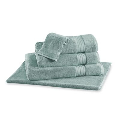 Frette At Home Milano Bath Sheet in Seaglass