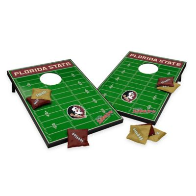Wild Sports Florida State University Field Tailgate Toss Cornhole Game