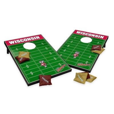 Wild Sports University of Wisconsin Field Tailgate Toss Cornhole Game