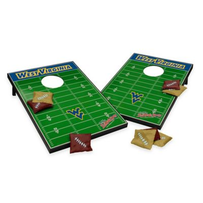 Wild Sports West Virginia University Field Tailgate Toss Cornhole Game