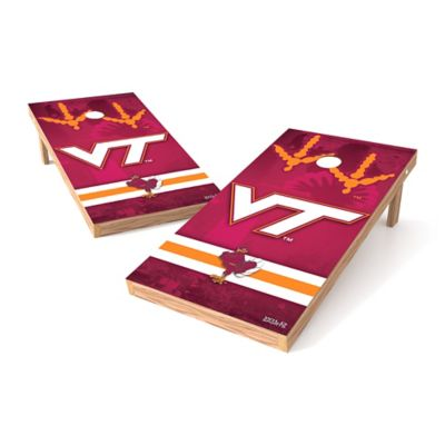 Wild Sports Virginia Tech Regulation Cornhole Set