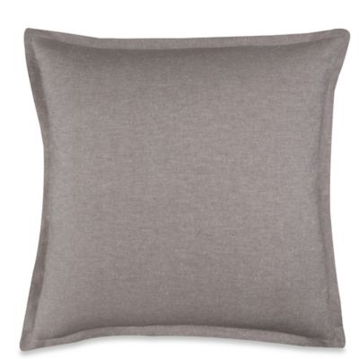 Wamsutta® Collection Luxury Italian-Made Alisa European Pillow Sham in White/Grey