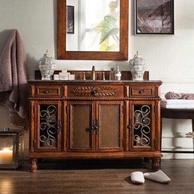 Brown Cherry Single Bathroom Vanities