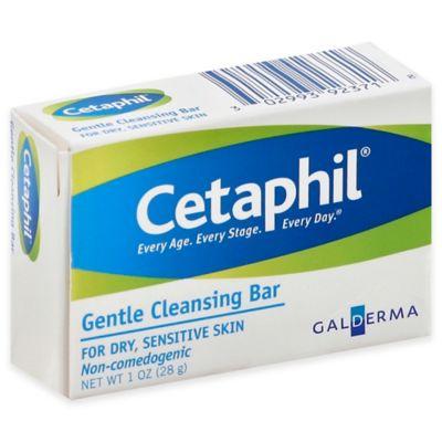Cetaphil® 1 oz. Cleansing Bar for Dry Sensitive Skin