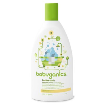 Babyganics® 20 oz. Bubble Bath in Chamomile and Verbena