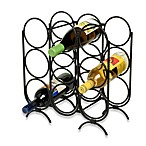 Multi-Ring 9-Bottle Wine Rack
