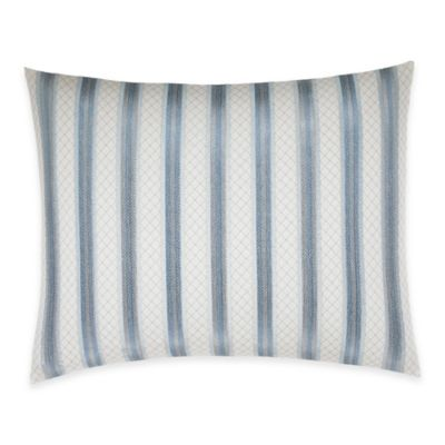 Blue Beige Breakfast Pillow